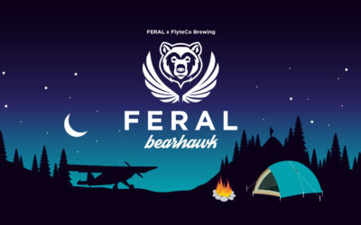 FERAL x FlyteCo Brewing FERAL Bearhawk Beer Release Party